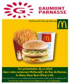 McDonald's™cinéma Gaumont Parnasse