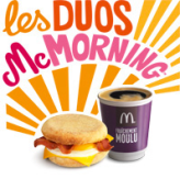 Mc Morning dès 8h00