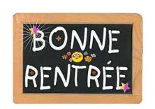 BONNE RENTREE