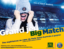 GRAND JEU BIG MATCH /PARIS SAINT-GERMAIN