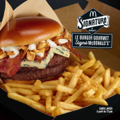 Signature, le burger Gourmet