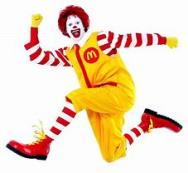 Ronald est pret pour le show