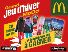 Grand Jeu d'Hiver McDonald's™