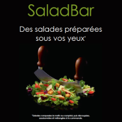 Découvrez notre SaladBar !