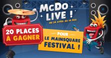 Jeu Mcdo Live