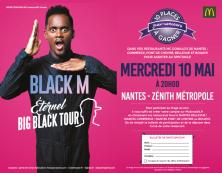 BLACK M : 10 Places à gagner