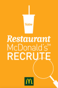 MCDONALD'S RECRUTE