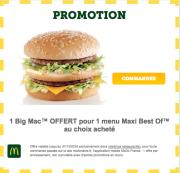 Promotions commande en ligne