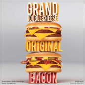 Grand double cheese
