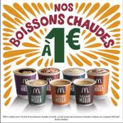 Boissons chaudes à 1€