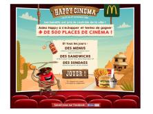 Jeu Happy cinéma