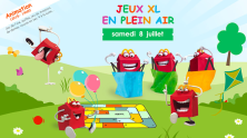 ANIMATION JEUX XL EN PLEIN AIR