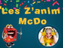 LES Z'ANIM'McDO