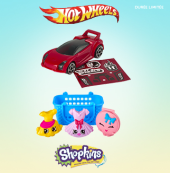 Shopkins-Hot Wheels dans le Happy Meal !