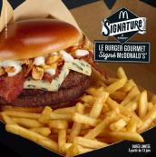 Découvrez le Menu Signature By McDonald'