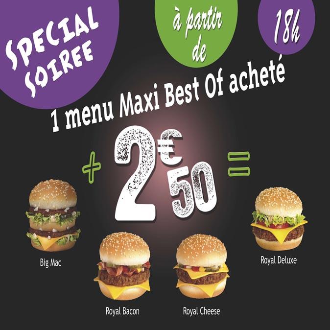 Après 18h00, des sandwichs à 2,50 €