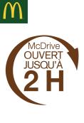 Drive ouvert 7j/7 jusqu'à 2h