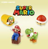Mario et ses amis remuent le Happy Meal