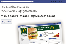 Rejoignez la page Facebook @McDoMacon