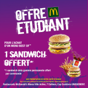 carte etudiant macdonald