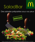 SALAD'BAR , SIGNATURE et ICED CORNER