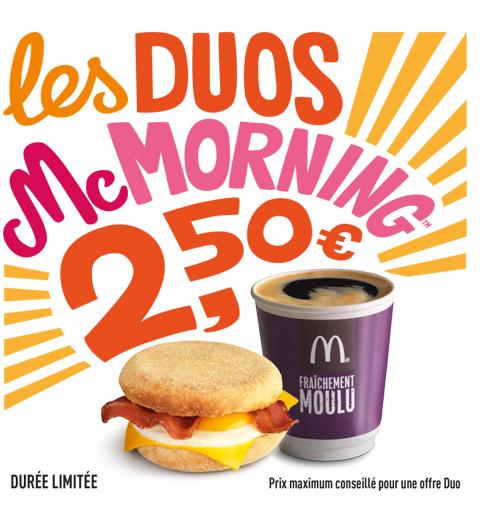 Petit Déjeuner Mc Morning