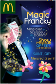 Magic Francky dans votre restaurant