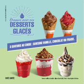 Les desserts glacés chez McDonald's™ !