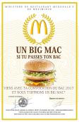 Un BigMac si tu passes ton BAC !