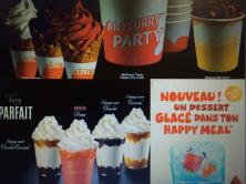 Les nouvelles glaces McDonald's