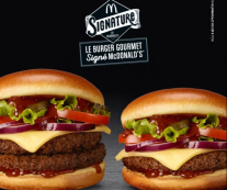 Le burger GOURMET by McDonald's