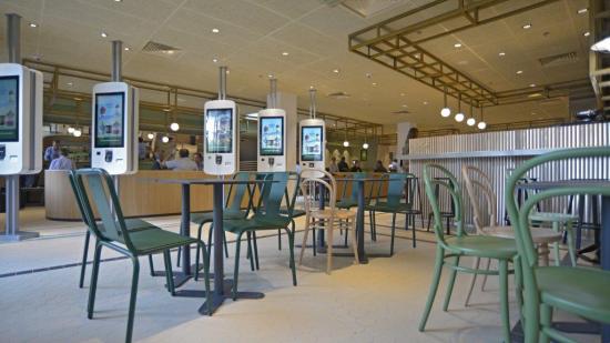 Bienvenue dans votre restaurant McDonald\'s Paris porte de versailles ...